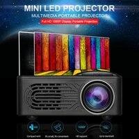 Mini projecteur LED Portable HD 1080P multimedia Home cinema cinema videoprojecteur video Projection Machine projecteur a la maison