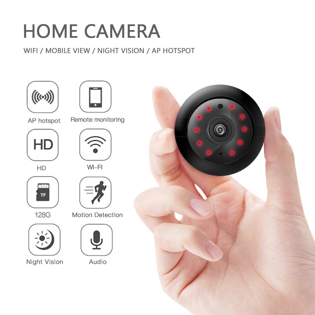 1080p wifi câmera sem fio mini wifi câmera de segurança em casa hd em dois sentidos visão noturna vídeo de segurança em casa câmera wi-fi