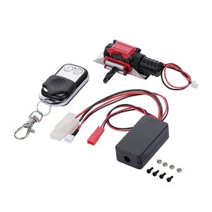 For Model Car General Purpose Winch With Button Remote Control Wireless Remote Control Receiver Upgrade Accessories