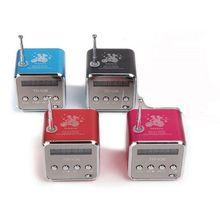 TD-V26 Mini Speaker Portable Micro SD TF Card USB Disk Stereo for DVD Laptop