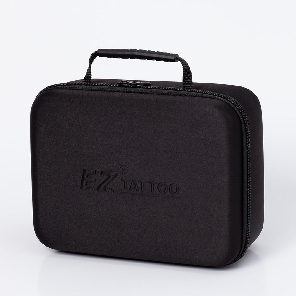 EZ الوشم السفر صندوق أسود فارغ المحمولة حماية غطاء واقٍ مزخرف لهاتف آيفون حقيبة اليد لمعدات الوشم