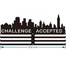 Cintre de médaille pour Marathon   Cintre de défi, remise acceptée
