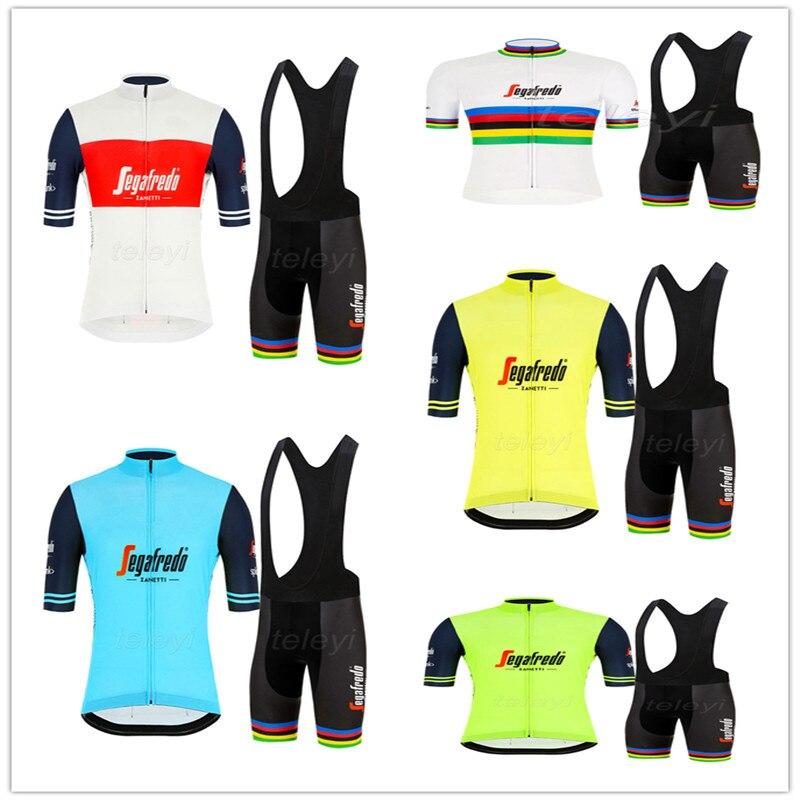 NOVEDAD DE VERANO 2020, Jersey de Ciclismo, conjunto de manga corta, Maillot,...