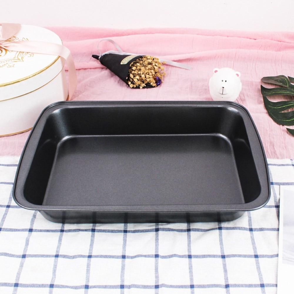 Útil plato de pollo asado Rectangular antiadherente plato de barbacoa molde de pastel horno profundo utensilios Kicthen
