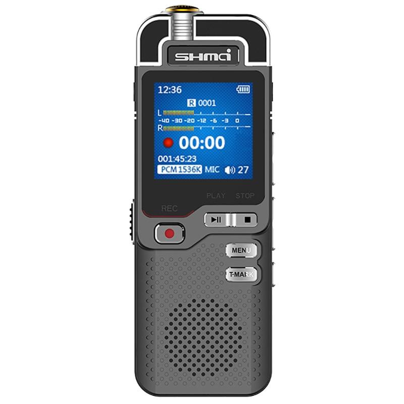 D60 المهنية الإملاء صوت تنشيط مسجل صوت رقمي صغير القلم 8GB PCM المزدوج هيئة التصنيع العسكري دنون متغير السرعة مشغل MP3