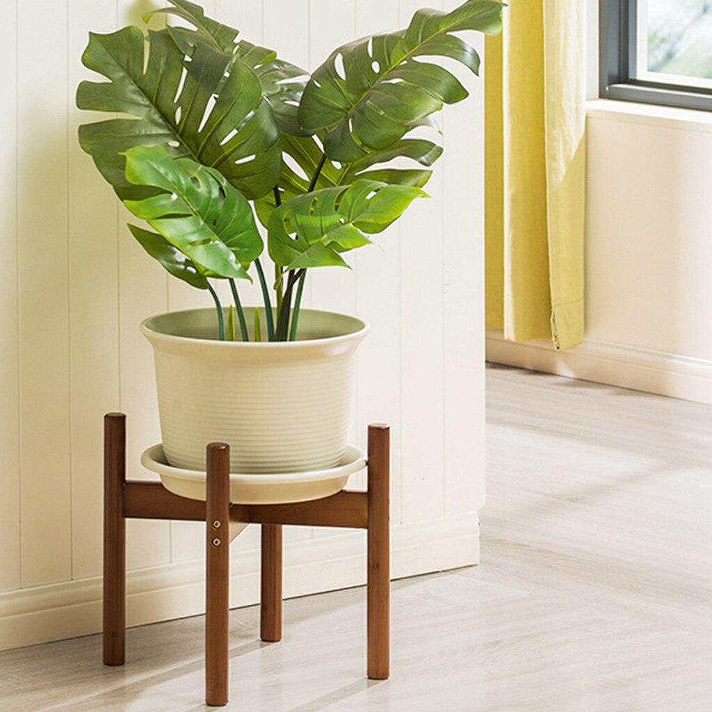 Nordic Desktop Solid Wood Flower Stand Cement Fleshy Flower Pot Creative Simple Living Room Balcony Assembly Flower Pot #15