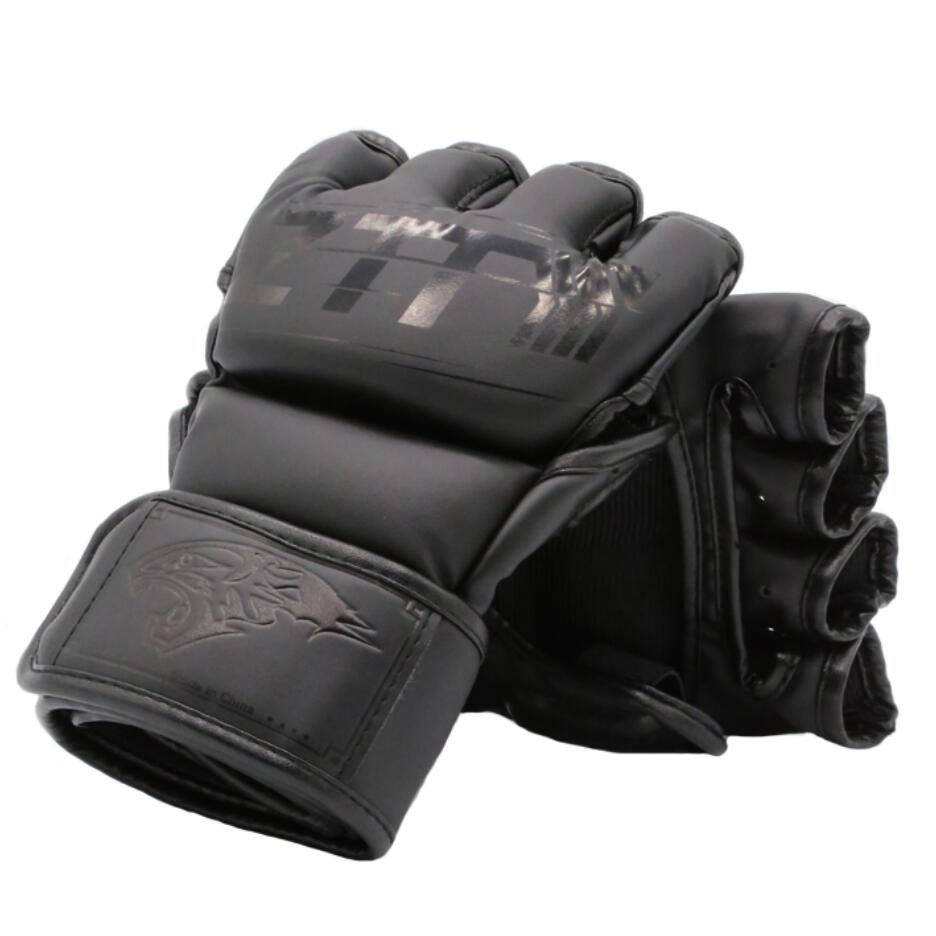 Guantes de boxeo Muay Thai MMA para niños y adultos de M/L, guantes de entrenamiento para boxeo, equipo de artes marciales Kong Fu