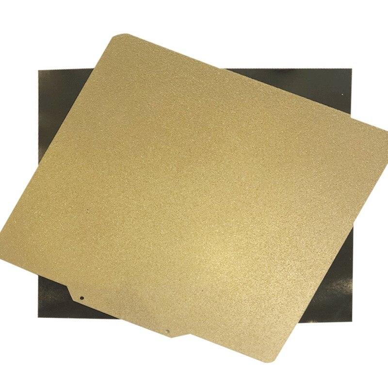 نشيط جديد 280x240 مللي متر مسحوق المغلفة بي (جانب واحد) لوح فولاذي نابض + قاعدة مغناطيسية لقطع Anycubic 4Max Pro ثلاثية الأبعاد