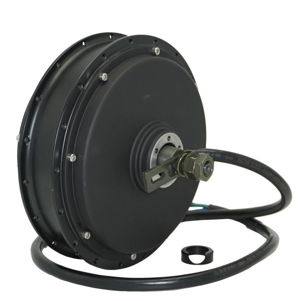 QS Motor Bicycle Spoke motor 3000W 205 (50H) V3/V3TI Type Hub Motor 48V/60V/72V 80KPH 96V 4T/5T 70-100KPH for electric bicycle enlarge