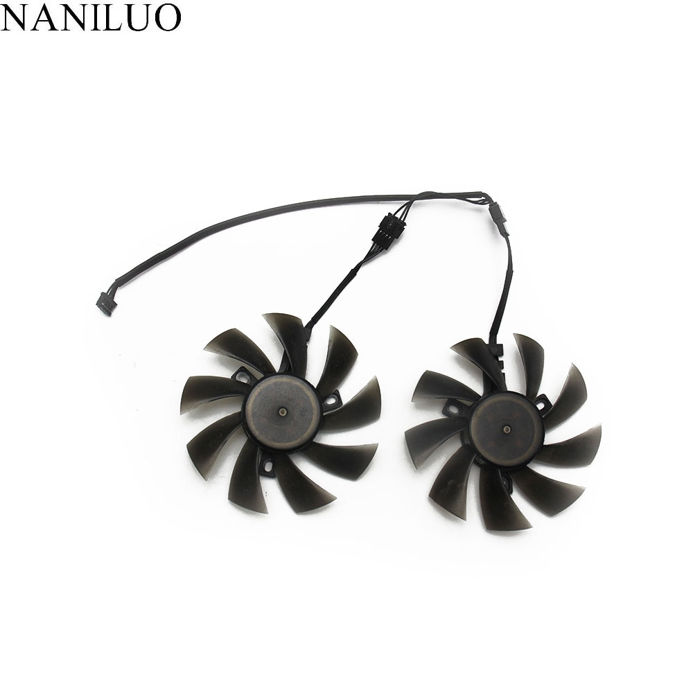 New 87mm T129215SU 4Pin Cooler Fan Replace For Palit GeForce GTX 1070 Ti 1070 1060 1080 GTX1060 Dual Graphics Card
