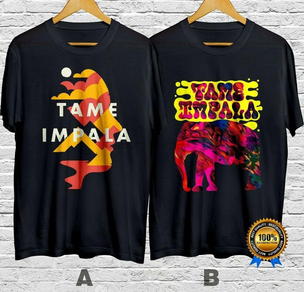 Tamo Impala Pop Rock Band Camiseta de algodón 100% de manga corta S-4XL envío rápido (1)