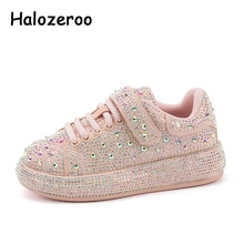 Autumn Kids Casual Sneakers Baby Boys Soft Rhinestone Shoes Children Brand Casual Sneakers Girls Chu