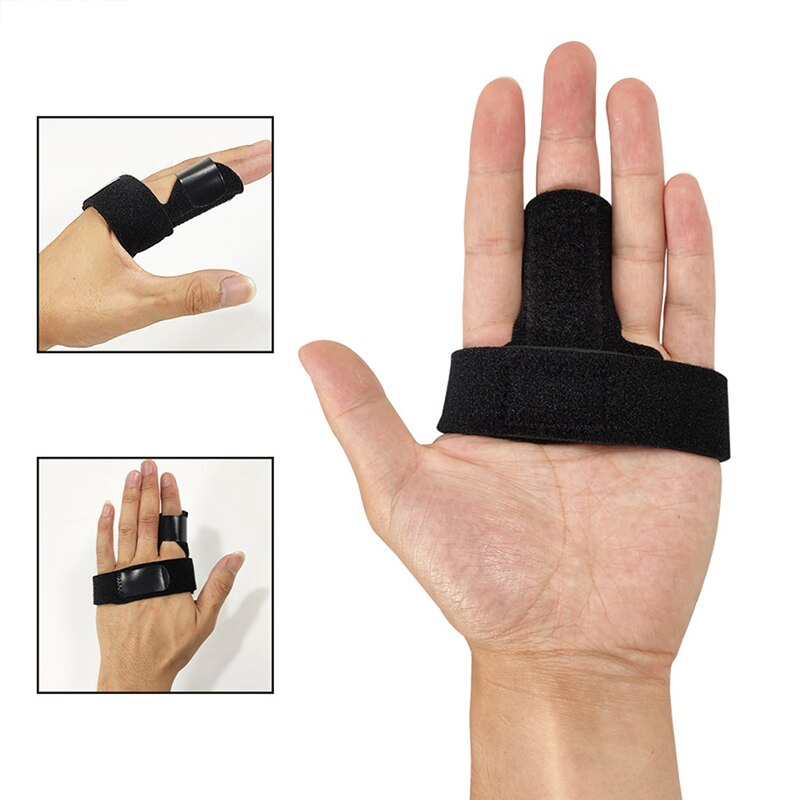 Adjustable Finger Splint Brace Trigger Finger Support Fracture Fix Arthritis Pain Relief Hand Protec