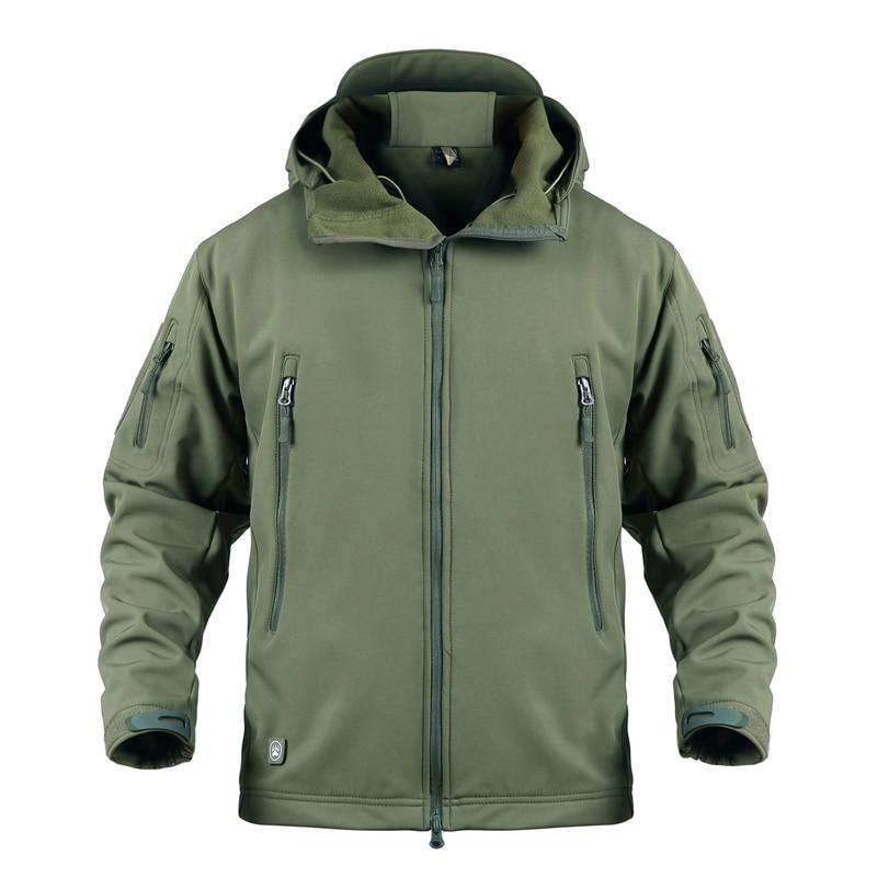 Nueva chaqueta militar de camuflaje para hombre de talla grande 5XL impermeable chaqueta táctica de concha suave para hombre rompevientos ropa de caza