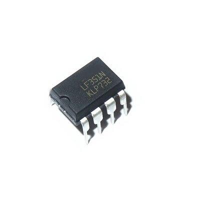10PCS LF351N DIP8 LF351 DIP 351N DIP-8 IC novo e original