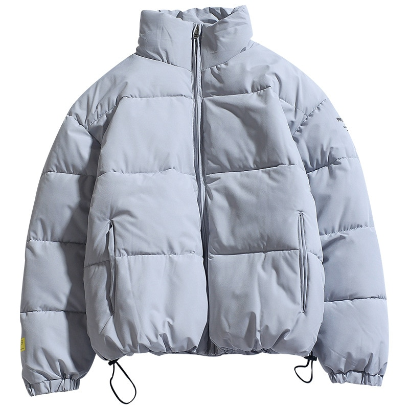 Winter New Men Solid Color Parkas Quality Brand Men's Stand Collar Warm Thick Jacket Male Fashion Casual Parka Coat