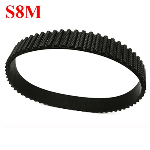 STD S8M-520 65 شبه منحرف قوس الأسنان 35 مللي متر 40 مللي متر 45 مللي متر 50 مللي متر عرض 8 مللي متر الملعب المطاط مغلق حلقة انتقال توقيت متزامن حزام