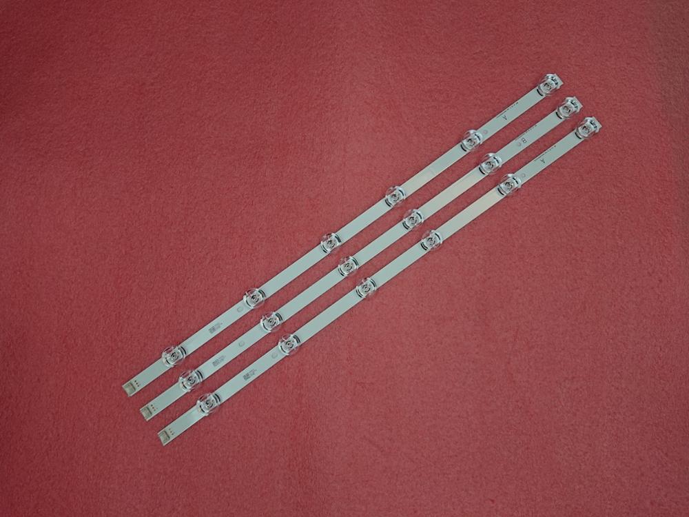LED strip(3)for LG 32LB551B 32LF560D 32LB5700 32LB5630 LGIT A B WOOREE 6916L-1974A 1974B 6916L-1975B