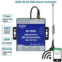 Alarme de surveillance dentrée numérique de contrôleur dalarme à distance de GSM SMS pour le commutateur de relais sans fil de Valve de pompe de Machine