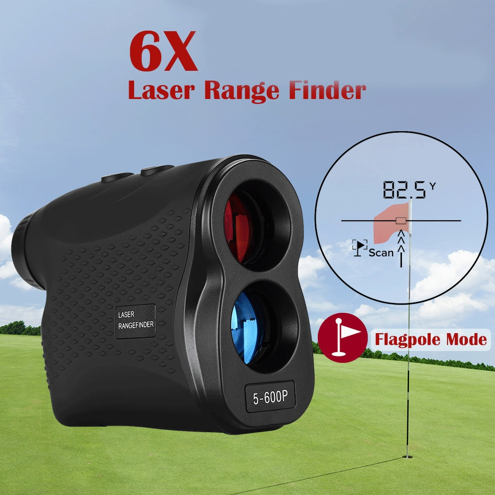 Medidor láser de distancia boblov, telémetro láser, telescopio Monocular para Golf, caza, láser, telémetro láser de cinta