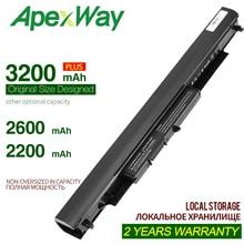 ApexWay 14.8V 4 Cellules HS03 HS04 HSTNN-LB6V HSTNN-LB6U batterie dordinateur portable Pour HP 240 245 250 G4 PC Portable Pavillon 14-ac0XX