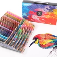 120150180210 wood pencils set professional painting colored watercolor drawing art sketch school kids student supplie 05888