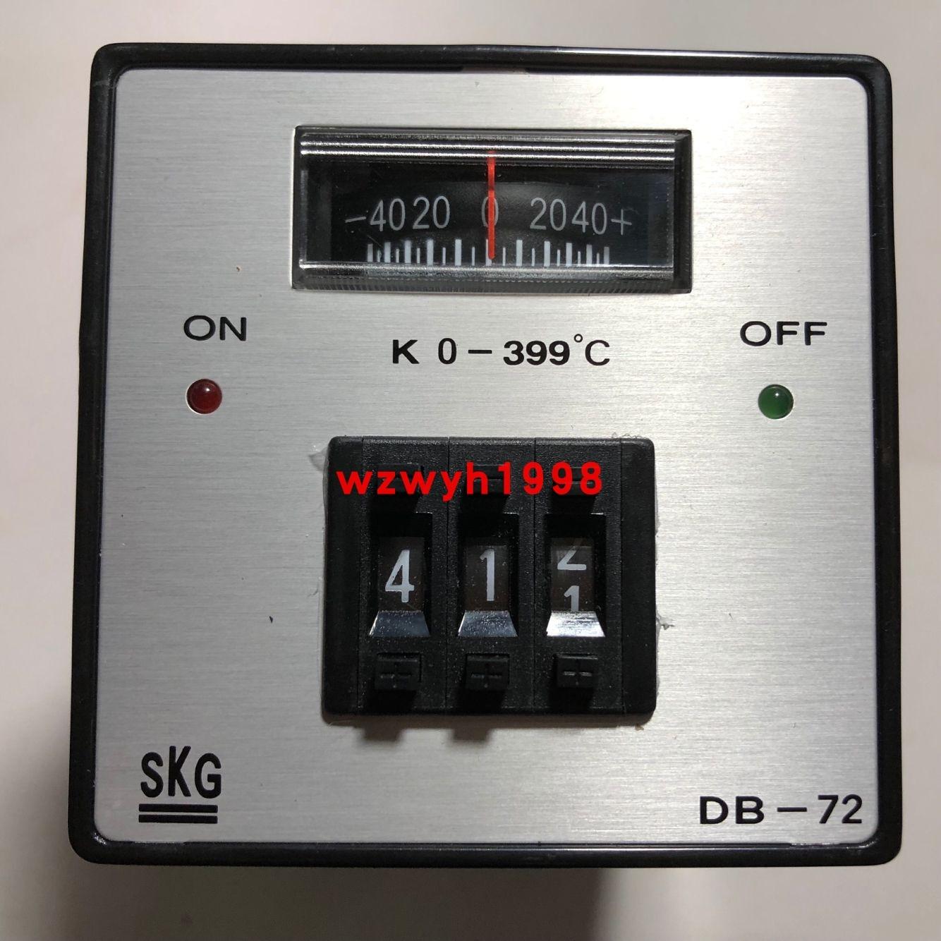 SKG الطلب رمز متر متحكم في درجة الحرارة DB-72 متحكم في درجة الحرارة SKG DB-72 K 0-399 درجة متحكم في درجة الحرارة