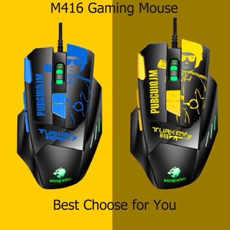 Профессиональная Проводная мышь USB оптическое игровое устройство ввода 4800 dpi 8 кнопок эргономичный дизайн PUBG мышь для PUBG LOL ПК ноутбук