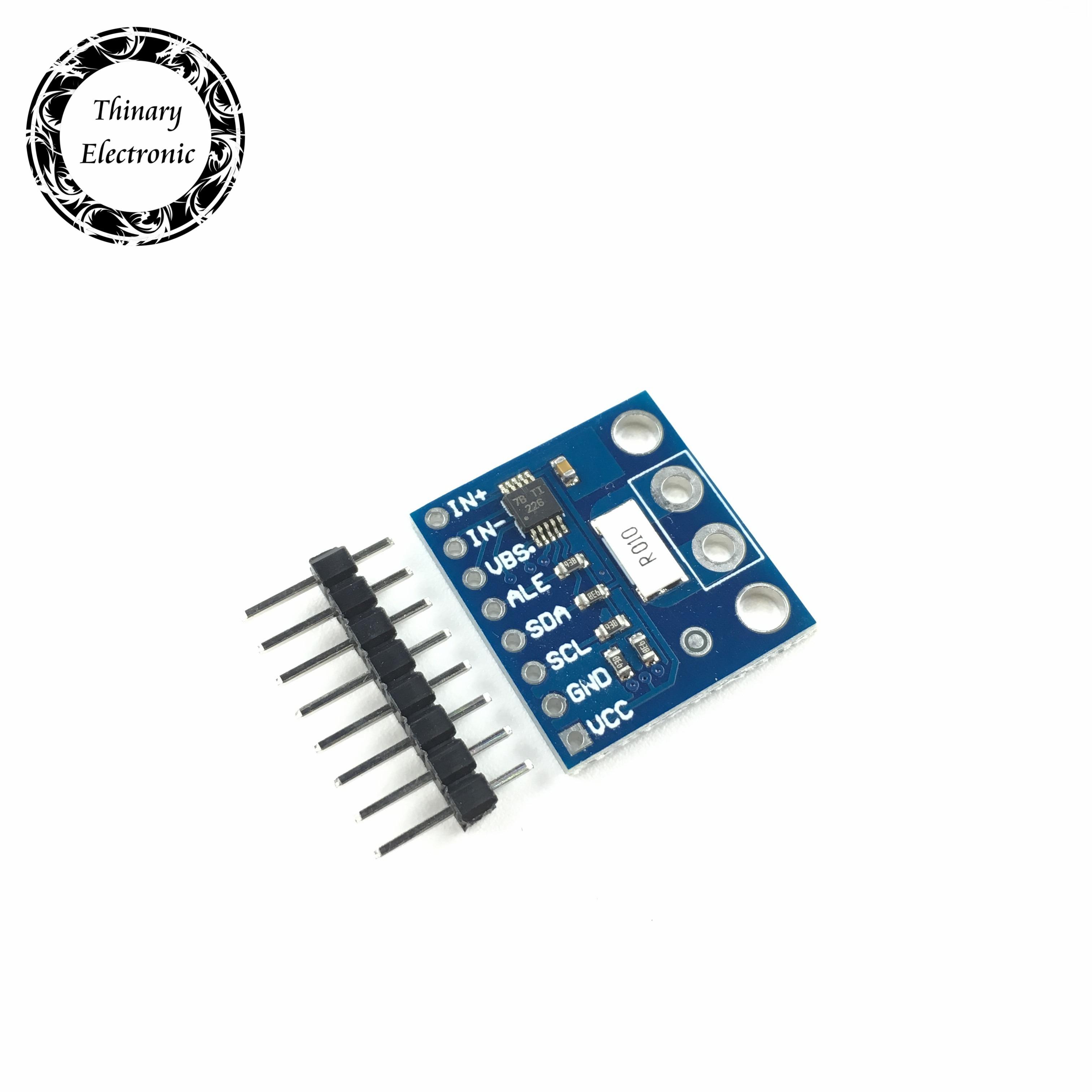 2 uds INA226 interfaz IIC Módulo de sensor de monitoreo de corriente bidireccional/potencia