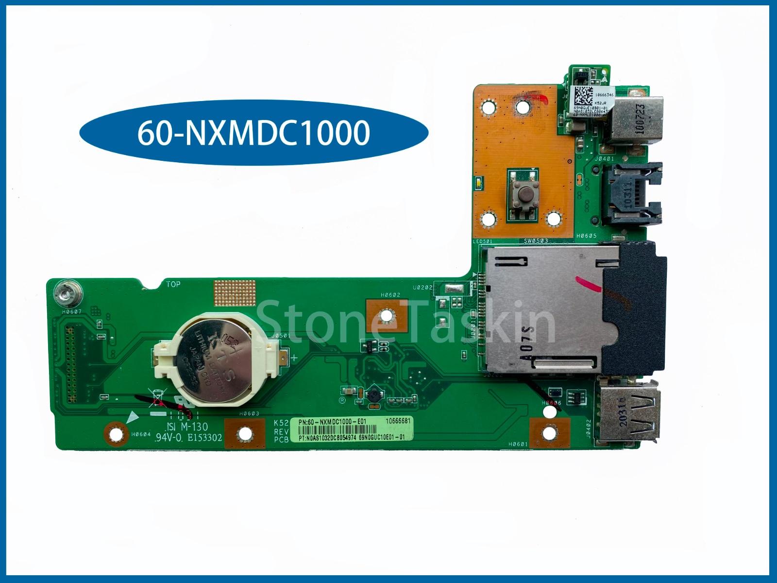 Hohe qualität Laptop Kabel Für ASUS K52 K52J K52JR K52JC K52DR X52F K52F X52J USB DC 60-NXMDC1000 Board Connector Voll getestet