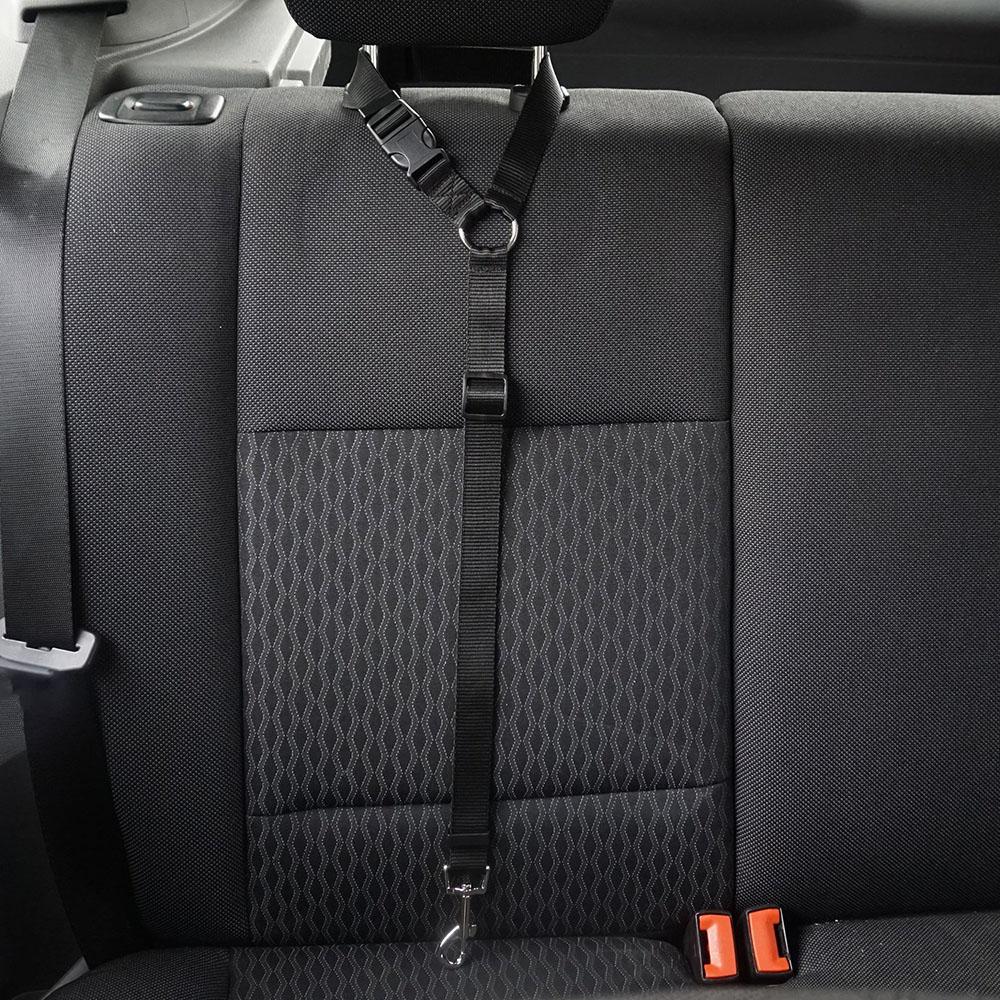 Cinturón de seguridad ajustable para perro y gato, arnés Universal práctico para cinturón de seguridad de coche, correa de asiento para cachorros, cinturón de viaje con Clip