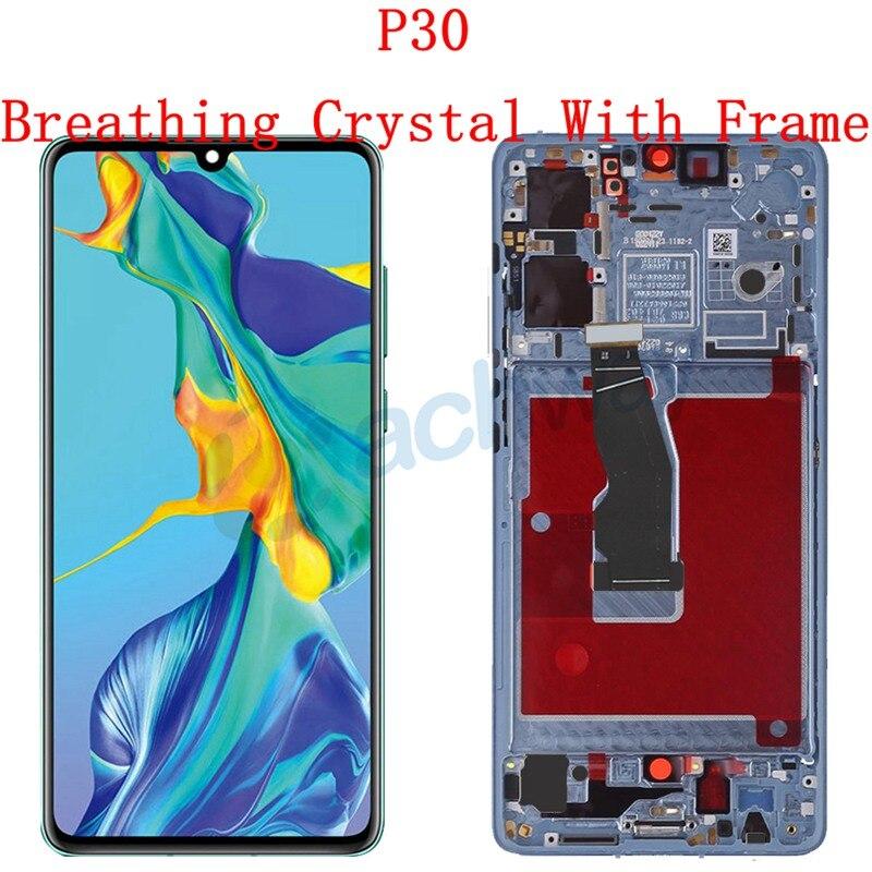 Original For Huawei P30 LCD Touch Screen Digitizer Assembly VOG-L04 VOG-L09 VOG-L29 VOG-TL00 Display Huawei P30Pro Display enlarge