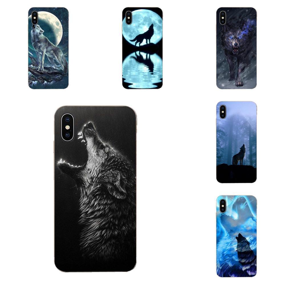 Чехол из ТПУ для телефона Howling Wolf Live, чехол для Huawei P7 P8 P9 P10 P20 P30 Lite Mini Plus Pro Y9 Prime P Smart Z 2018, 2019