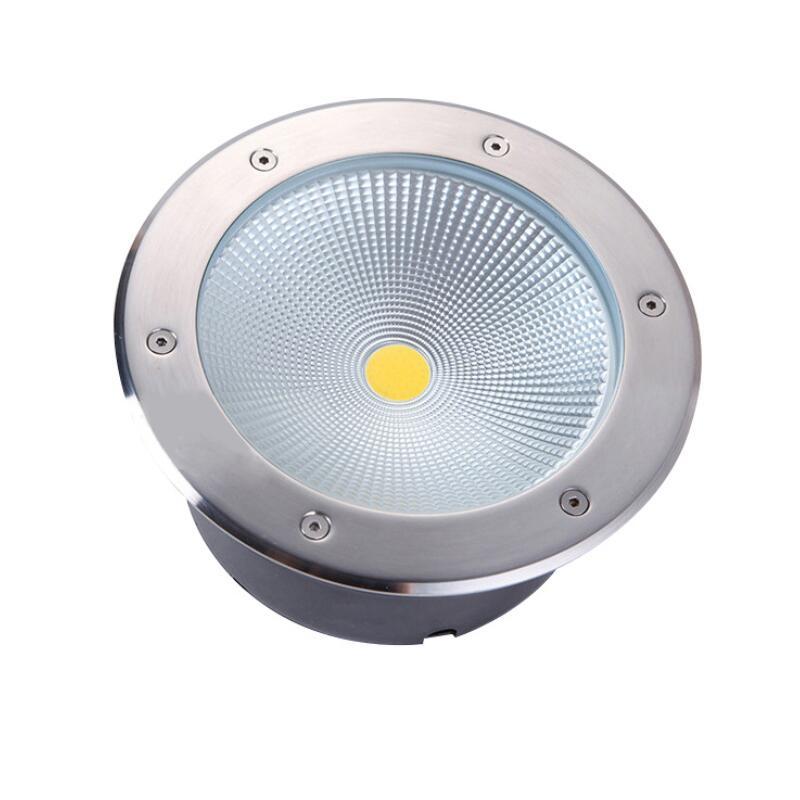 Luz LED subterranea de 10W, 12W, 15W, 20W, 30W, IP68, lampara de suelo impermeable para terreno de exterior, paisaje, jardin, enlarge