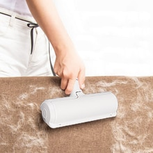 2-Way Pet Hair Remover Roller Removing Dog Cat Hair From Furniture Self-cleaning Lint Pet Hair Remov