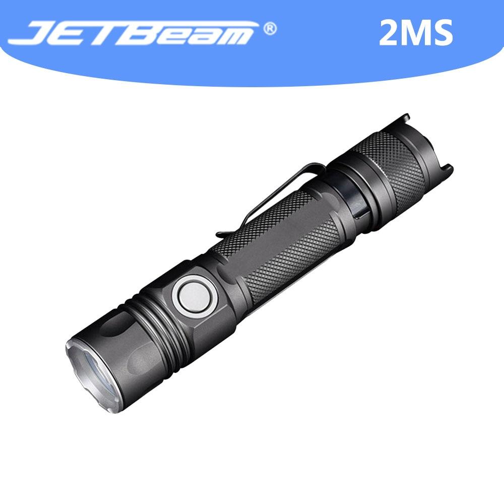 jetray lanterna de led de alta potencia lanterna poderosa de 2ms 2000 lumens autodefesa