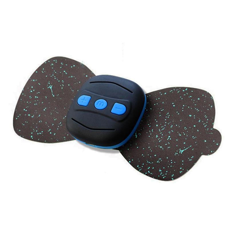 Masajeador de carga, Mini pegatinas de masaje portátil, calcomanías para el cuello, vértebra Cervical, instrumento de fisioterapia