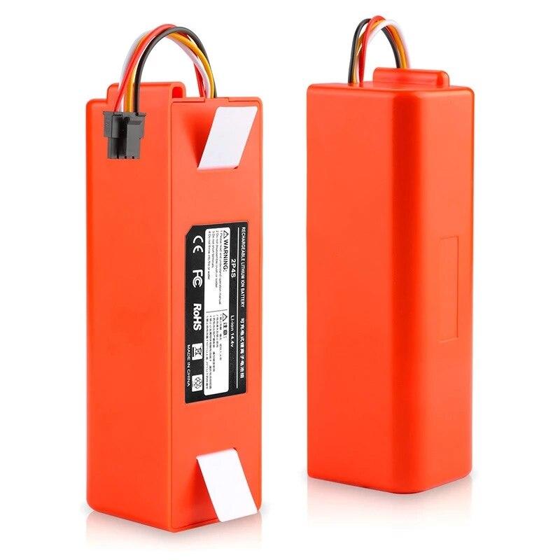 جديد 6500mAh 14.4 فولت بطارية ليثيوم أيون ل شاومي ROBOROCK مكنسة كهربائية S50 S51 T4 T6 mi روبوت مكنسة كهربائية اكسسوارات هوتسيل