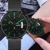 סוויש 2020 גברים שעון קוורץ שעון ספורט עמיד למים יד שעוני יוקרה מותג גברים נירוסטה שעוני יד זכר Reloj