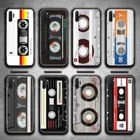 music classic retro cassette tape phone case for samsung galaxy note20 ultra 7 8 9 10 plus lite m51 m21 m31 j8 2018 prime