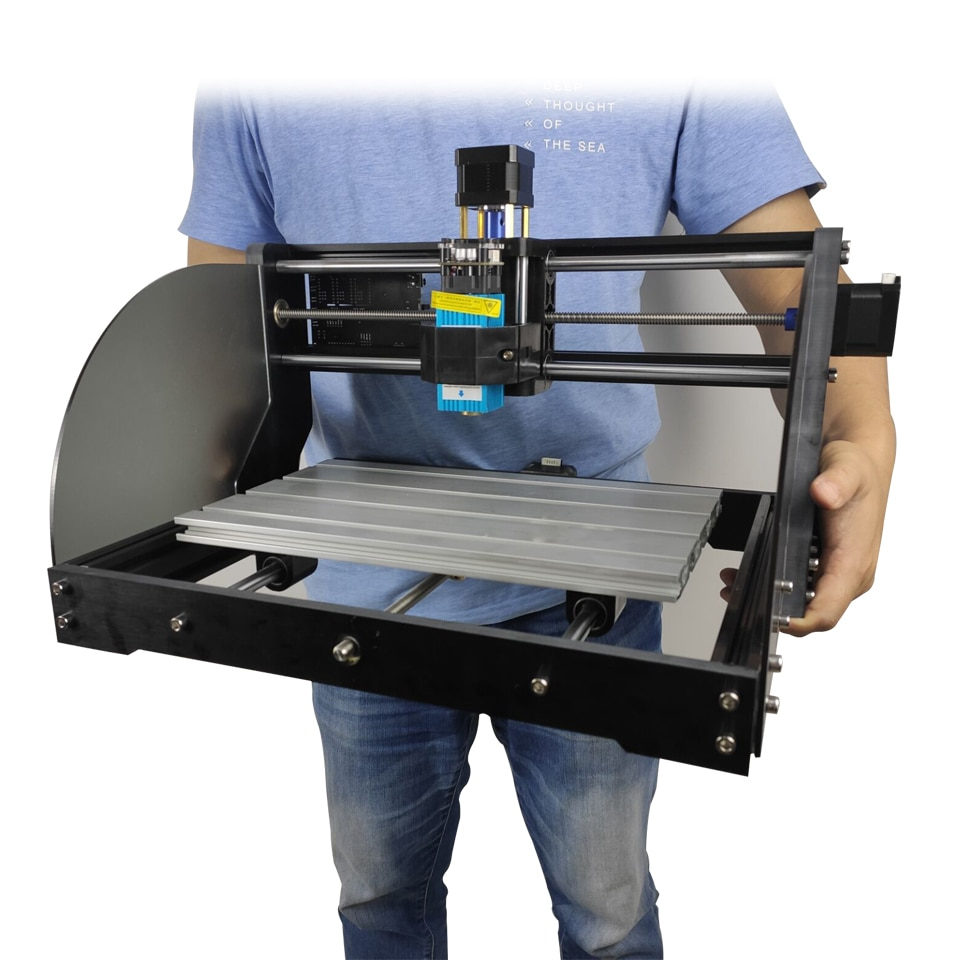 Wood Milling Machine 15W Laser Engraver with Milling Cutter for Electric Wood Router Laser Cutting Machine 2021 Woodworking Tool enlarge