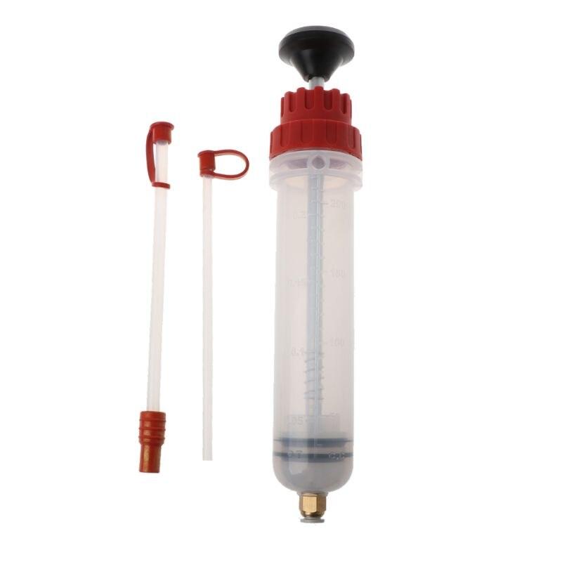 200cc Car Oil Fluid Extractor Filling Syringe Bottle Transfer Hand Pump Tools