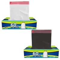 60pcsbox 45x50cm garbage bag high quality thickened garbage bin can be bundled garbage bag household daily use ch
