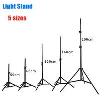 Штатив для фотостудии, регулируемый светильник с винтовой головкой 120, 50/200/1/4 см