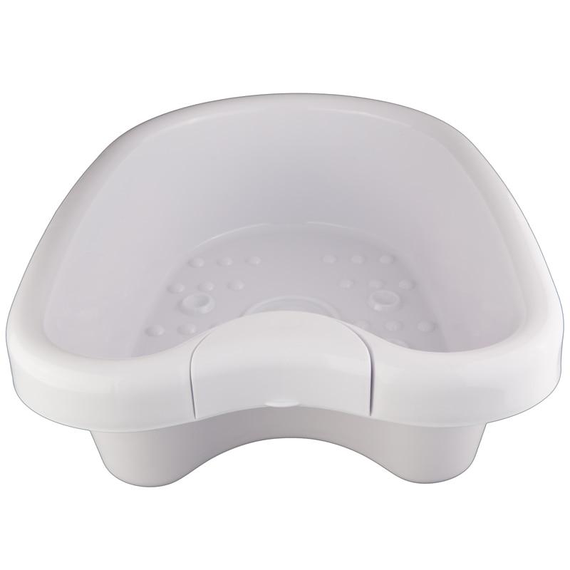 2 قطعة/الوحدة البلاستيك القدم حوض ل ايون تطهير السموم آلة سمك ABS كبير القدم حوض