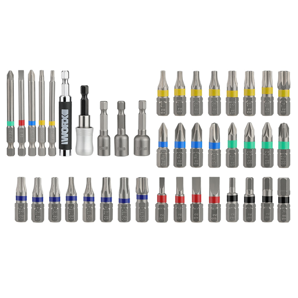Worx Drill Bits Set WA1149 42Pcs Bits for Drill Driver electric screwdriver Hex screwdrivers enlarge