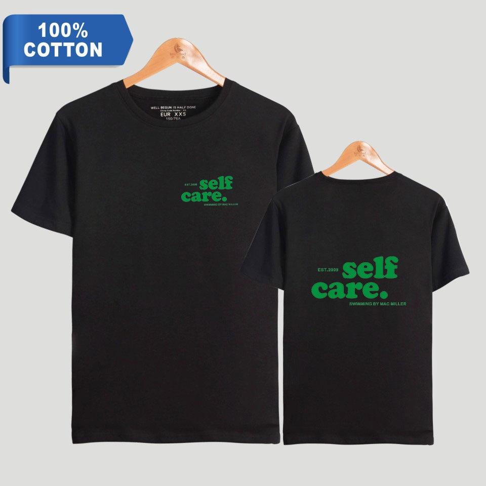 2019 nouveau Mac Miller natation 100% coton membre Album à manches courtes mode T-shirts femmes et hommes T-shirts été vêtements hauts