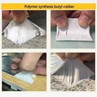 thickness 1mm aluminum foil butyl tape waterproof sealing adhesive color self adhesive roof material bungalow leaking tape j6w1