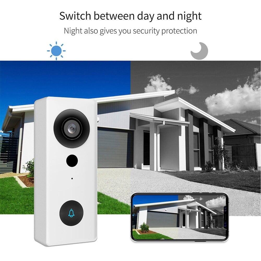 1080P Video Remote Smart Doorbell Camera Security IR Night Vision PIR Motion Detection Door Bell Waterproof Camera enlarge