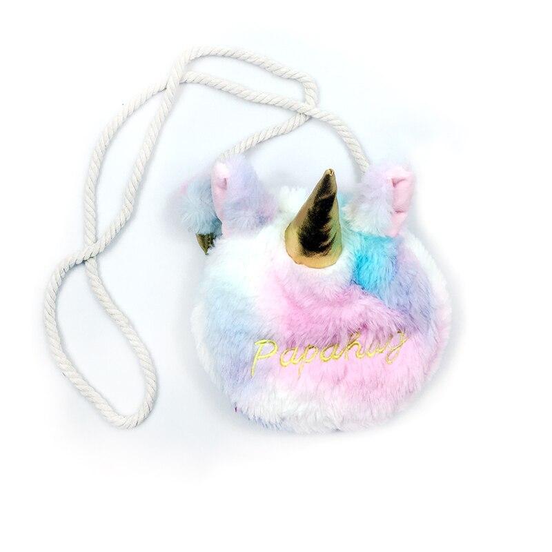 Unicorn Stuffed Toys Plush Girls Bags Stuffed Animals Messenger Bags Shoulder Bag Wallet toys
